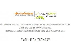 EVOLUTION TACK DRY PLUS 5,00 (postava bez ljepila)